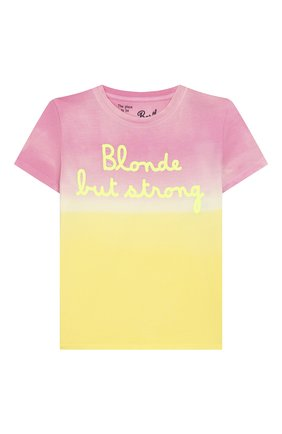 Детская хлопковая футболка MC2 SAINT BARTH разноцветного цвета, арт. STBK ELLY/ELLY001 | Фото 1