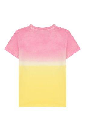 Детская хлопковая футболка MC2 SAINT BARTH разноцветного цвета, арт. STBK ELLY/ELLY001 | Фото 2