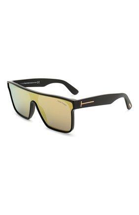 Мужские солнцезащитные очки TOM FORD черного цвета, арт. TF709 | Фото 1