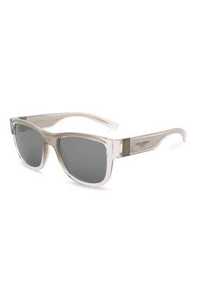 Мужские солнцезащитные очки DOLCE & GABBANA серебряного цвета, арт. 6132-32606G | Фото 1