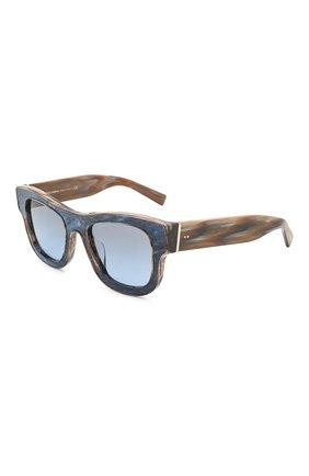 Мужские солнцезащитные очки DOLCE & GABBANA синего цвета, арт. 4379F-3263V1 | Фото 1