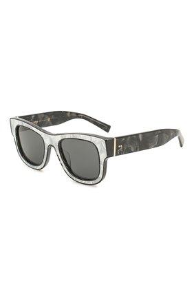 Мужские солнцезащитные очки DOLCE & GABBANA черного цвета, арт. 4379F-326487 | Фото 1
