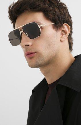 Мужские солнцезащитные очки TOM FORD золотого цвета, арт. TF735-H | Фото 2