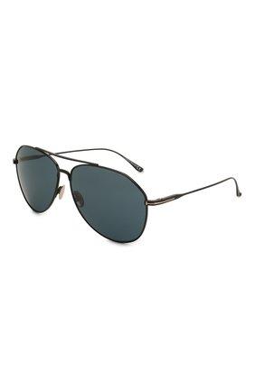 Мужские солнцезащитные очки TOM FORD черного цвета, арт. TF747 | Фото 1