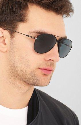 Мужские солнцезащитные очки TOM FORD черного цвета, арт. TF747 | Фото 2