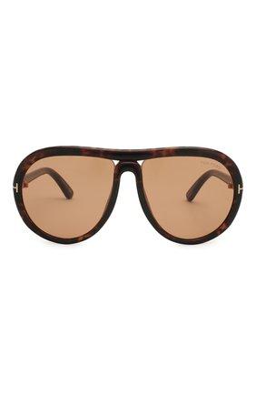 Мужские солнцезащитные очки TOM FORD коричневого цвета, арт. TF768 | Фото 4