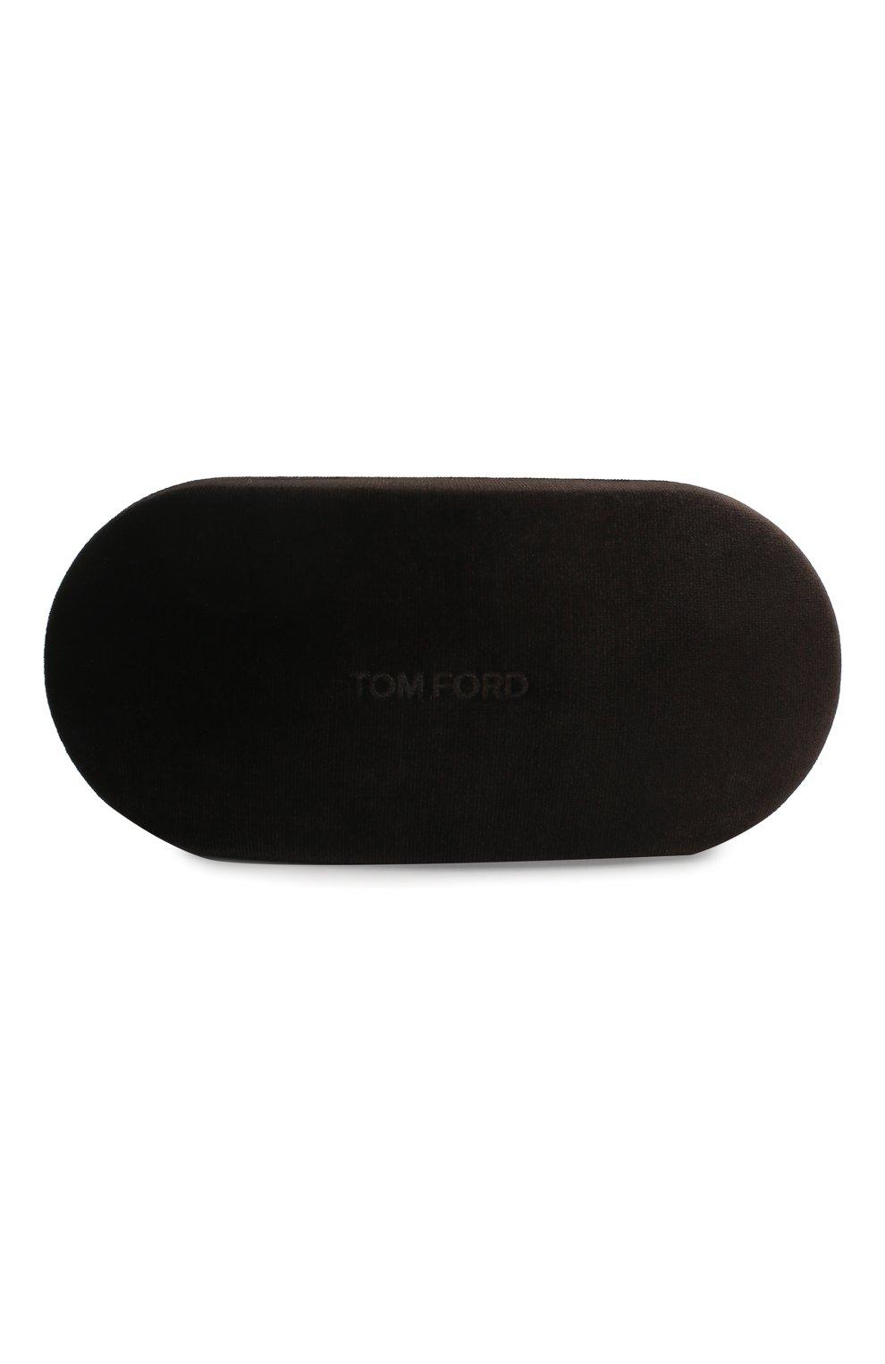 Мужские солнцезащитные очки TOM FORD коричневого цвета, арт. TF768 | Фото 5
