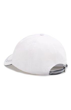Мужской хлопковая бейсболка PAUL&SHARK белого цвета, арт. E20P7115 | Фото 2