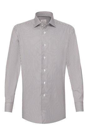 Мужская хлопковая сорочка BRIONI хаки цвета, арт. RCL80Z/P905V | Фото 1