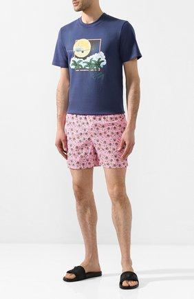 Детского плавки-шорты MC2 SAINT BARTH розового цвета, арт. STBM LIGHTING MICR0 FANTASY/LIG0003 | Фото 2