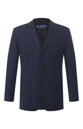 Мужской пиджак KNT темно-синего цвета, арт. UGS0106K06S41 | Фото 1