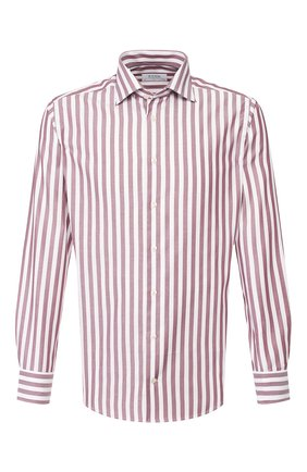 Мужская хлопковая сорочка ETON бордового цвета, арт. 3405 79511 | Фото 1