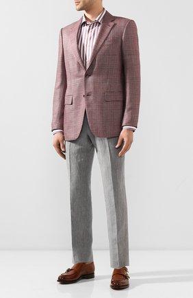 Мужская хлопковая сорочка ETON бордового цвета, арт. 3405 79511 | Фото 2