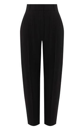 Женские брюки ALEXANDER MCQUEEN черного цвета, арт. 577572/QEAAA | Фото 1