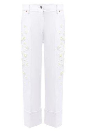 Женские джинсы VALENTINO белого цвета, арт. TB0DD10A5D4 | Фото 1