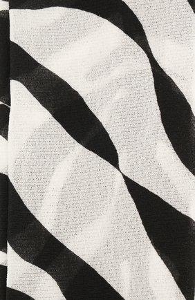 Женские колготки DOLCE & GABBANA черно-белого цвета, арт. FC163A/HSMTR | Фото 2