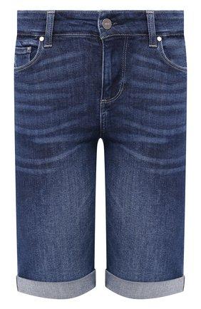 Женские джинсовые шорты PAIGE синего цвета, арт. 1798D84-7642 | Фото 1