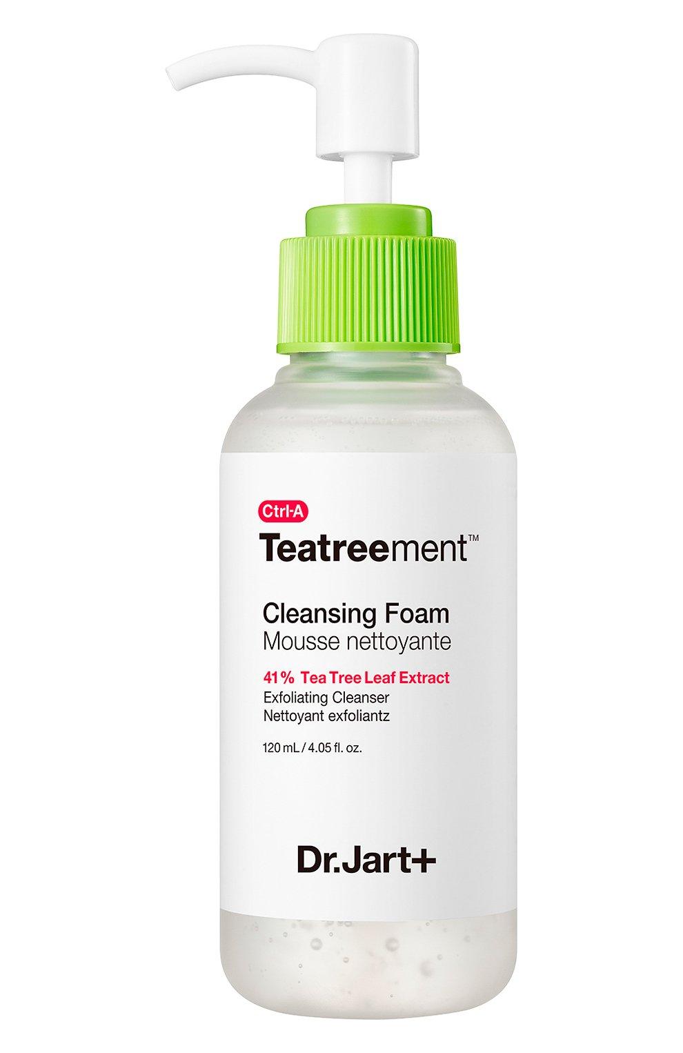 Женского очищающая пенка c экстрактом чайного дерева для проблемной кожи ctrl-a DR.JART+ бесцветного цвета, арт. 8809642712874 | Фото 1
