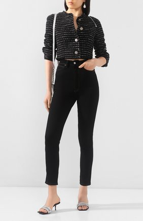 Женские кожаные мюли jessie ALEXANDER WANG черного цвета, арт. 30C120P092 | Фото 2