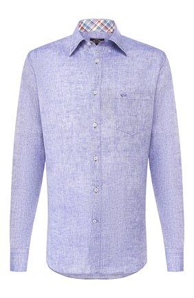 Мужская льняная рубашка PAUL&SHARK фиолетового цвета, арт. P20P3036 | Фото 1