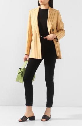 Женская пуловер RAG&BONE черного цвета, арт. WCC20ST045C745   Фото 2