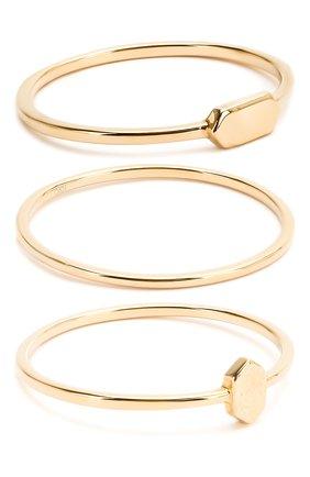 Женское комплект из трех колец JEWLIA золотого цвета, арт. JR-13.16.17 | Фото 1