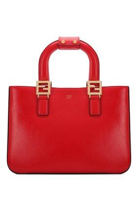 Женская сумка FENDI красного цвета, арт. 8BH367 A9Y0 | Фото 1