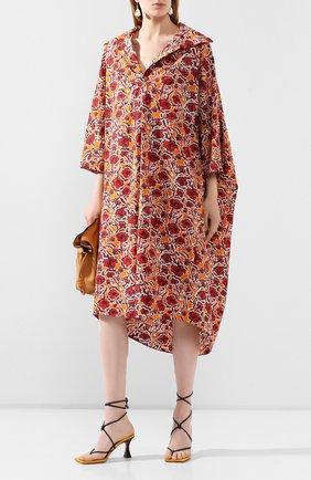 Женское хлопковое платье MARNI разноцветного цвета, арт. ABMA0480A1/TCY78 | Фото 2