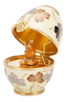 Мужская яйцо mouse TSAR белого цвета, арт. 202009 | Фото 1
