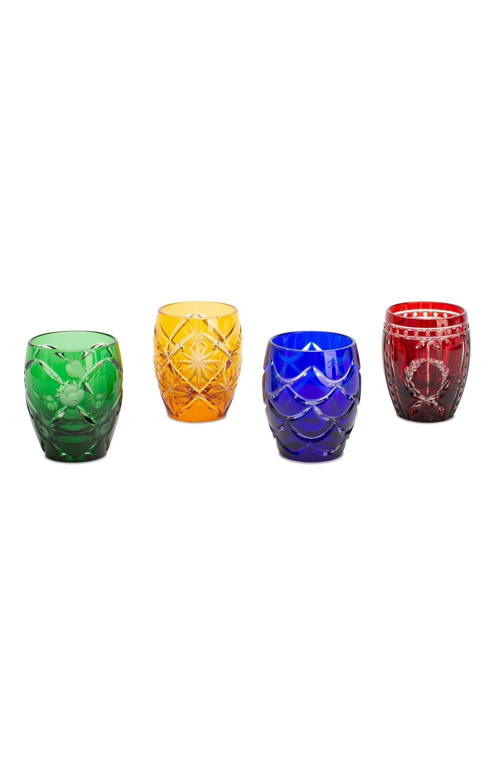 Мужские набор imperial egg из 4-х рюмок для водки TSAR разноцветного цвета, арт. 472084 | Фото 1