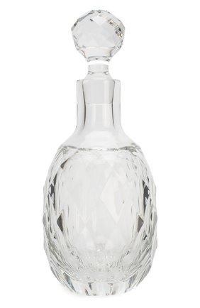 Набор из штофа и 2-х стаканов для виски arlekin TSAR прозрачного цвета, арт. 75154-2 | Фото 2