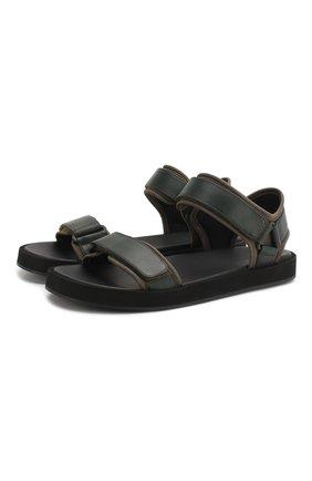 Кожаные сандалии Hook | Фото №1