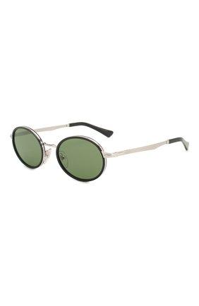 Женские солнцезащитные очки PERSOL зеленого цвета, арт. 2457S-518/52 | Фото 1