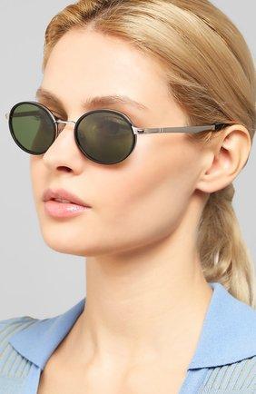 Женские солнцезащитные очки PERSOL зеленого цвета, арт. 2457S-518/52 | Фото 2