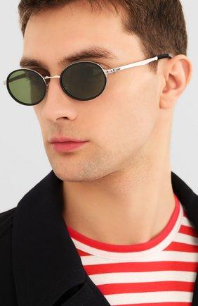 Женские солнцезащитные очки PERSOL зеленого цвета, арт. 2457S-518/52 | Фото 3