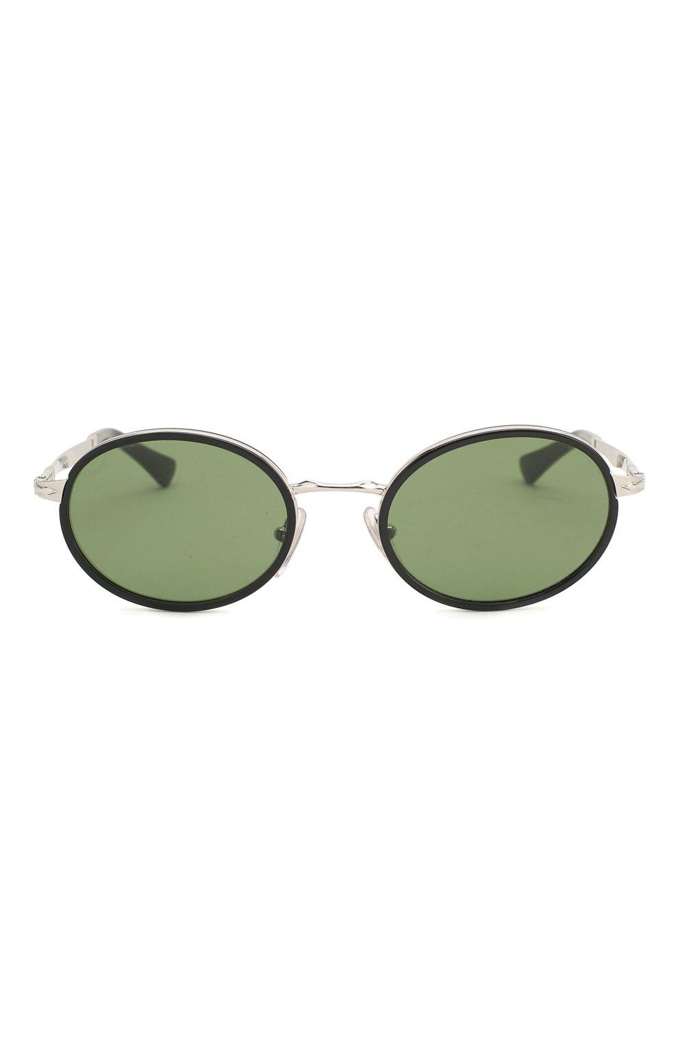 Женские солнцезащитные очки PERSOL зеленого цвета, арт. 2457S-518/52 | Фото 4