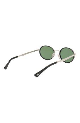 Женские солнцезащитные очки PERSOL зеленого цвета, арт. 2457S-518/52 | Фото 5