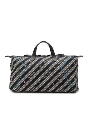 Мужская текстильная дорожная сумка bond GIVENCHY темно-синего цвета, арт. BK506HK0VJ | Фото 1