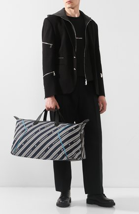 Мужская текстильная дорожная сумка bond GIVENCHY темно-синего цвета, арт. BK506HK0VJ | Фото 2