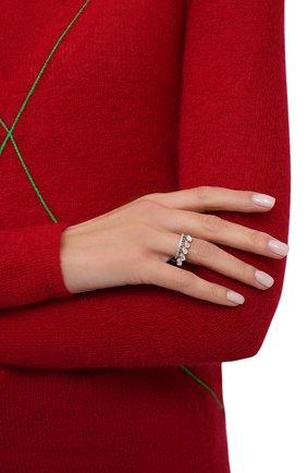 Женское кольцо water MOONKA STUDIO серебряного цвета, арт. wt-tr-mns   Фото 2
