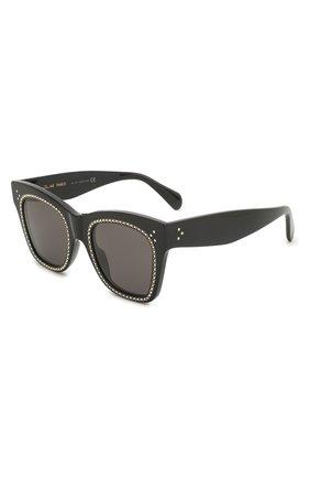 Женские солнцезащитные очки CELINE EYEWEAR черного цвета, арт. 4004IS | Фото 1
