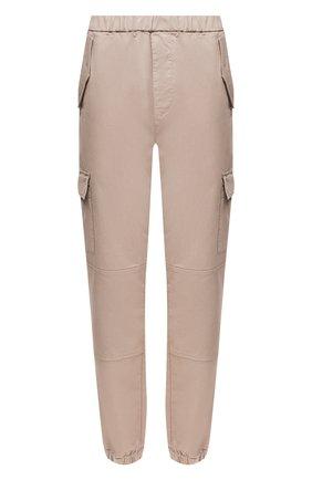 Женские хлопковые брюки J BRAND бежевого цвета, арт. JB002857 | Фото 1