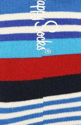 Женские подследники multi stripe liner sock HAPPY SOCKS разноцветного цвета, арт. MST06 | Фото 2