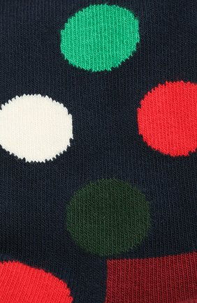 Женские носки big dot sock HAPPY SOCKS разноцветного цвета, арт. BDO01 | Фото 2