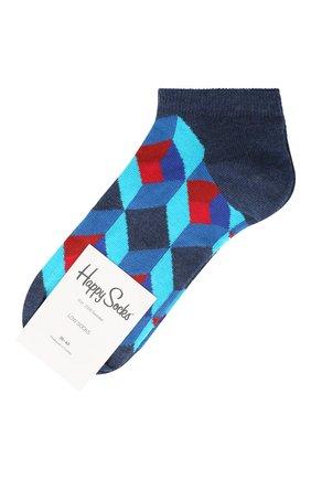 Женские носки optic square low sock HAPPY SOCKS разноцветного цвета, арт. OSQ05 | Фото 1