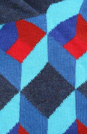 Женские носки optic square low sock HAPPY SOCKS разноцветного цвета, арт. OSQ05 | Фото 2