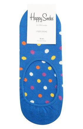 Женские подследники dot liner sock HAPPY SOCKS разноцветного цвета, арт. DOT06 | Фото 1