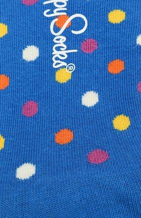 Женские подследники dot liner sock HAPPY SOCKS разноцветного цвета, арт. DOT06 | Фото 2