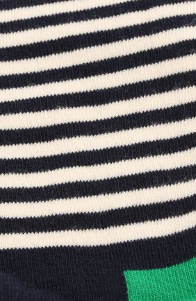 Женские носки half stripe sock HAPPY SOCKS разноцветного цвета, арт. HAS01 | Фото 2