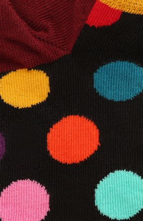 Женские носки big dot low sock HAPPY SOCKS разноцветного цвета, арт. BDO05 | Фото 2